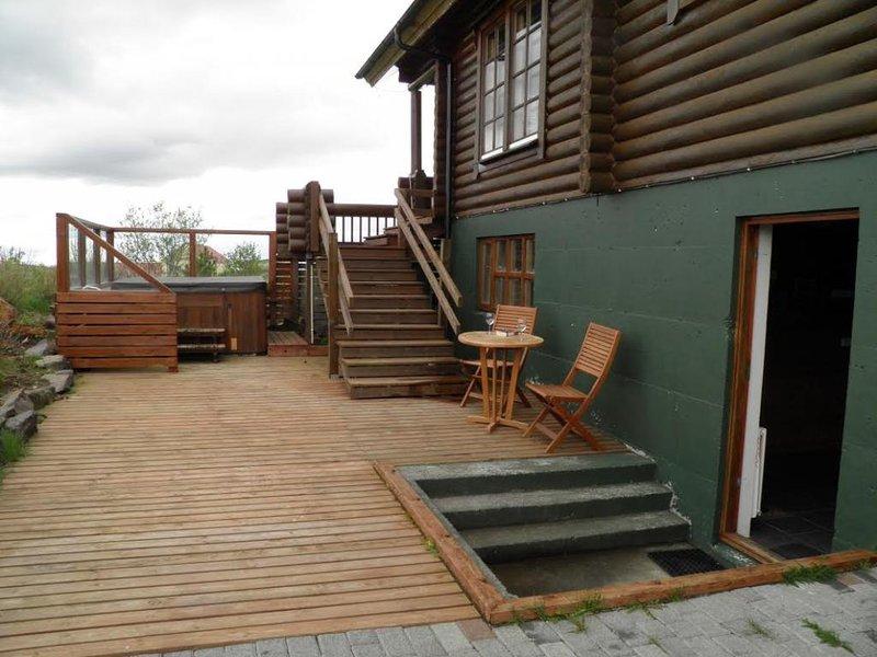 Brennistadir Apartment, holiday rental in Reykholt