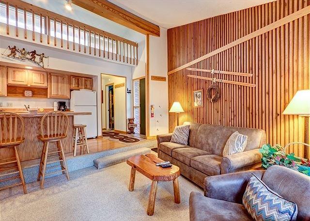 Peak 8 Village Living Room Breckenridge Lodging Case vacanze