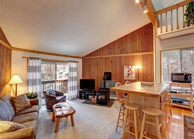 Peak 8 Village Living Room Breckenridge Lodging Vacation Rental