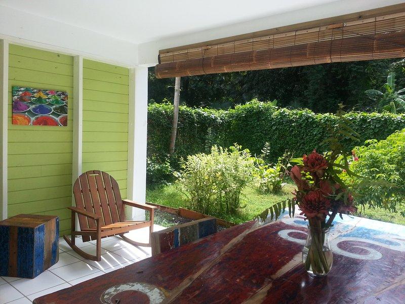 Habitation CALISSA, alquiler de vacaciones en Basse-Terre Island