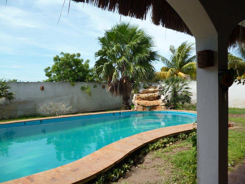 villa, alquiler vacacional en Chelem