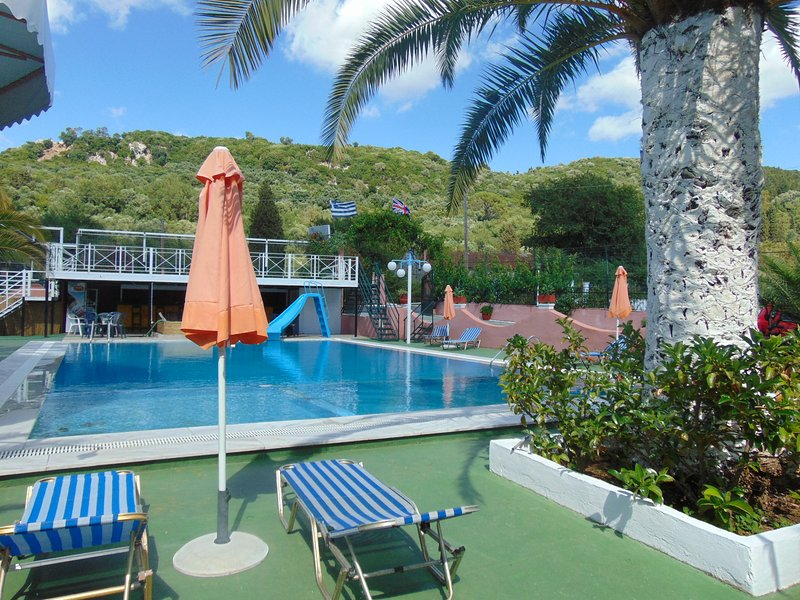 Villa Magdalena Corfou piscine