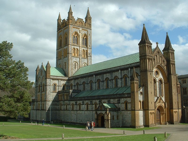 Majestic Buckfast Abbey and its beautiful gardens and cafe is just down the road