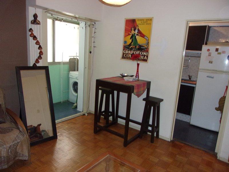 PRANZO, lavanderia e cucina zona d'ingresso