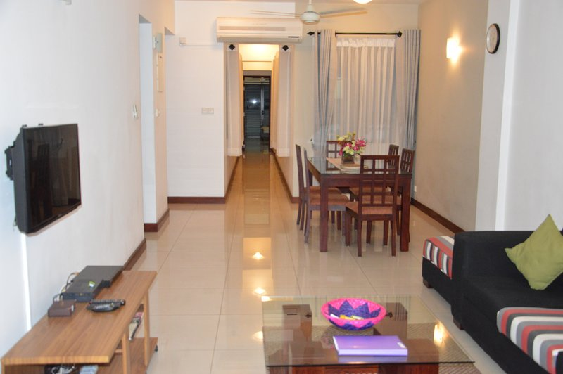 Fully furnished, beautifully designed, private three bedroom apartment in Colombo 5.
