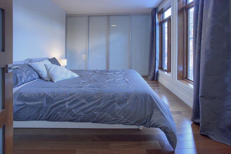 3ème chambre avec lit queen-côté
