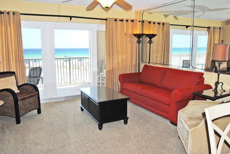 Living Room Islander Beach 2012 Fort Walton Beach Okaloosa Island Vacation Rentals