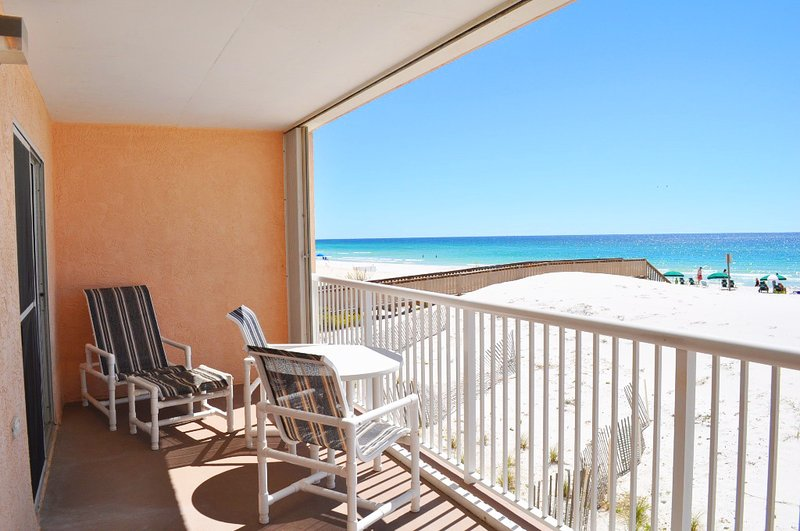Balcone Islander Beach 2012 Fort Walton Beach Okaloosa Island Case per le vacanze