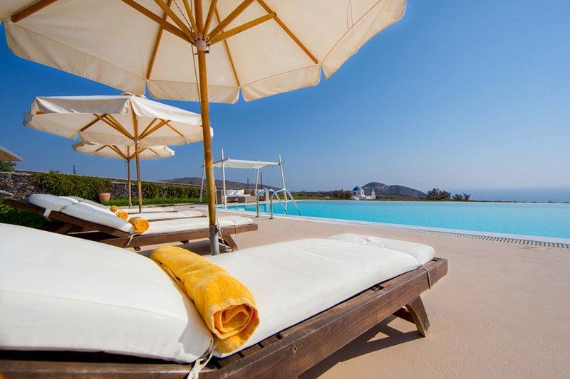 Villa Ammos, location de vacances à Akrotiri