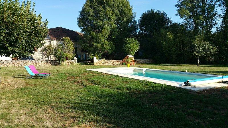Mill Vaudres | heated pool