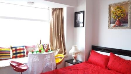 Shanghai Downtown Big Newly Decorated &Furnished, Riverside Apt,Good Location,Perfect View-Bedroom