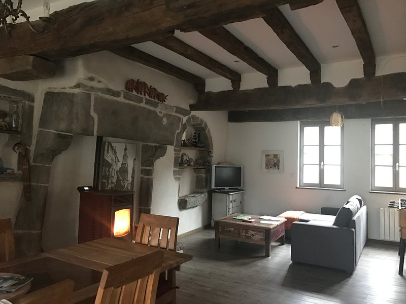 La Re-naissance in the heart of the medieval city, alquiler vacacional en Lanvallay
