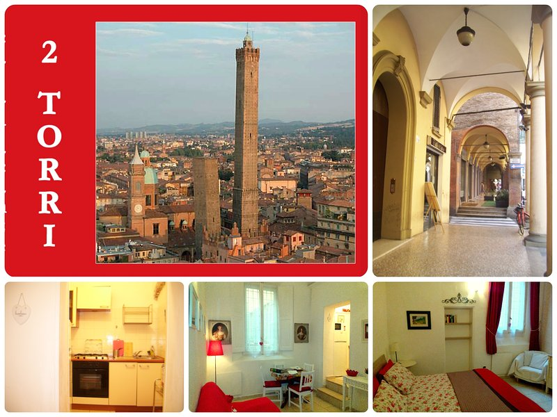 Magic Historic CENTRE 2TORRI+comfortable+NICE+WiFi, location de vacances à Bologne