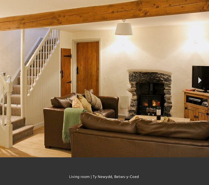 Ty Newydd Holiday Cottage, Betws y Coed, vacation rental in Betws-y-Coed