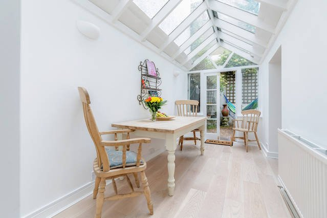 Conservatory which leads to Kitchen and your Private Garden