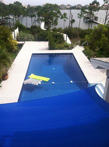 Pool overlooking Gulf