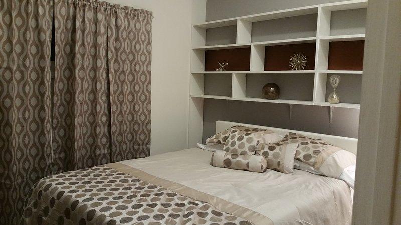 3 slaapkamers - allemaal queen bedden en memory foam matrassen.