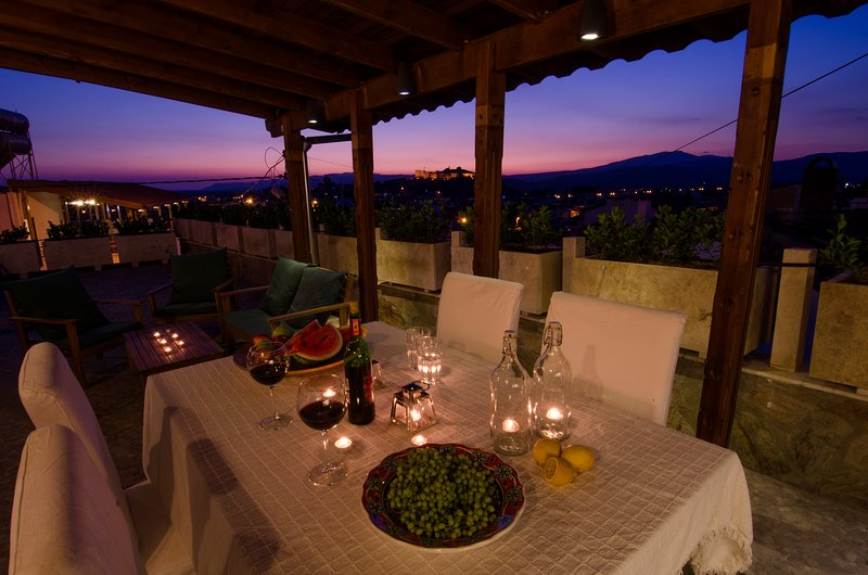 jantar Terrace at Sunset House