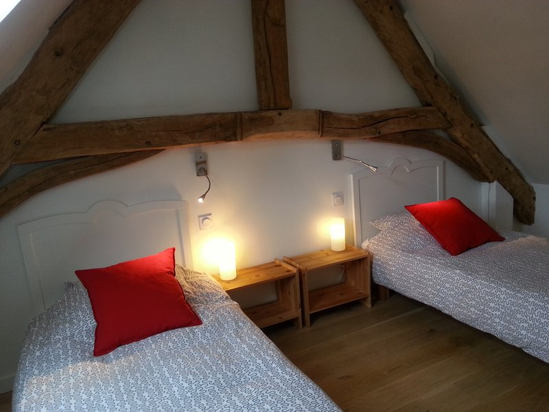 Gite de charme cure Bagnoles de l Orne Normandie, holiday rental in La Pallu