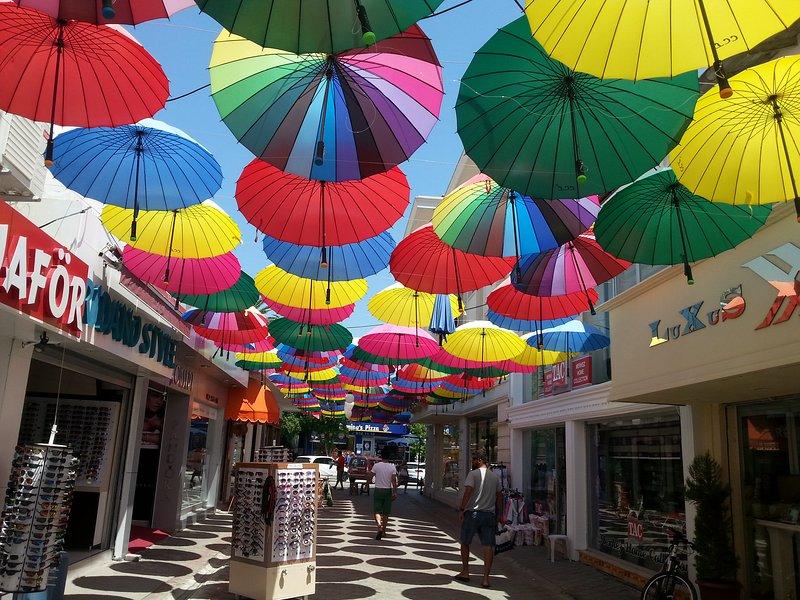 Fethiye centrum