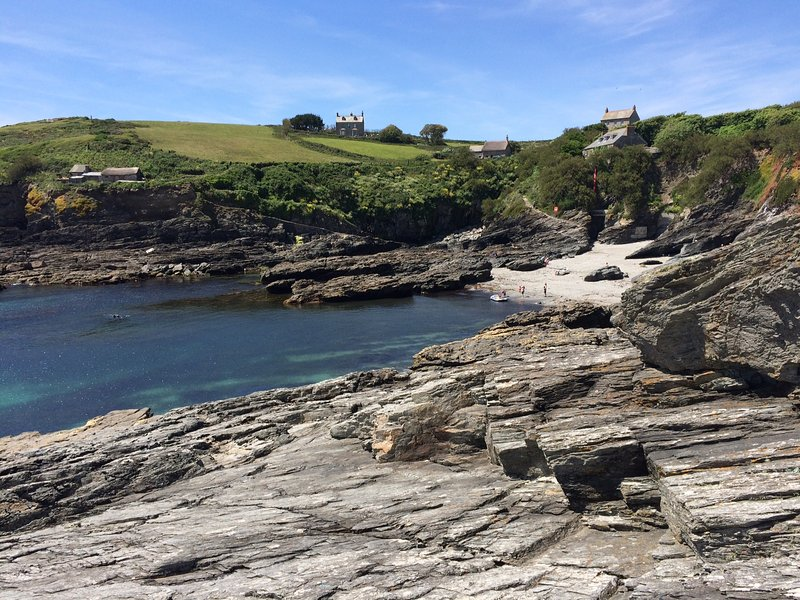 Prussia Cove - just a short drive away