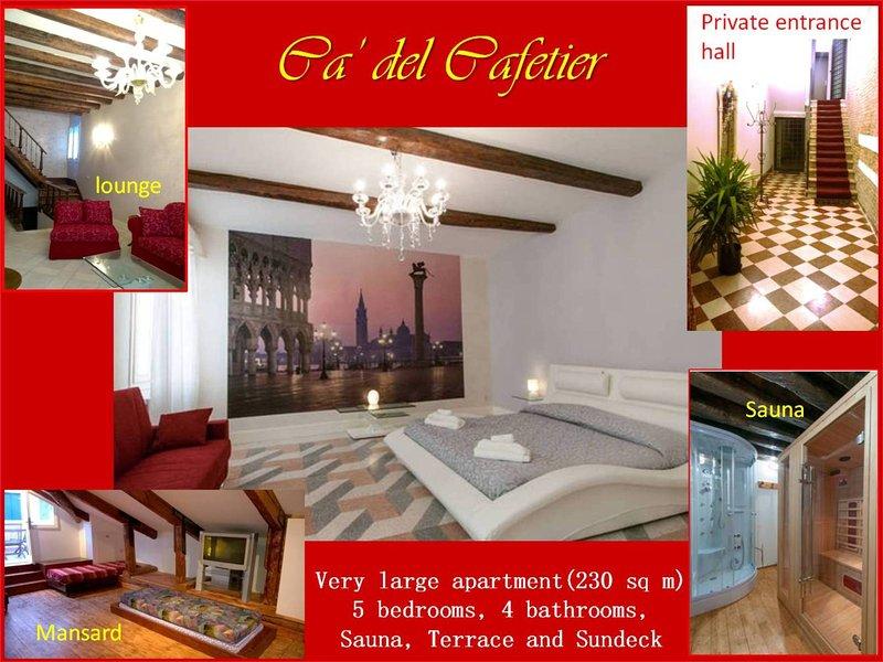 Ca' del Cafetier: a haven for family reunions at MyVeniceMartini, alquiler de vacaciones en Venecia