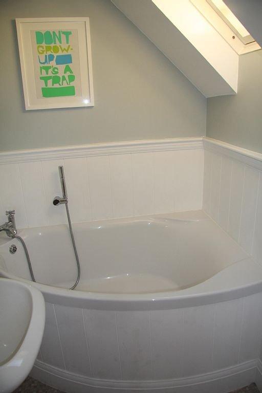 Bañera de esquina