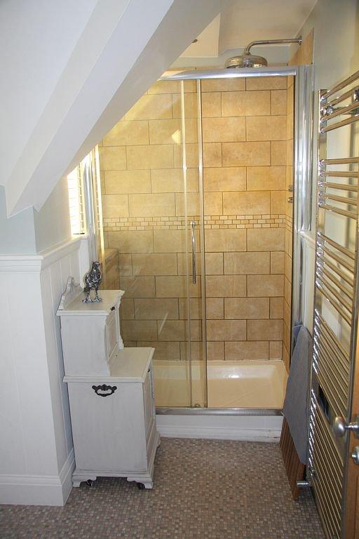 cabina de ducha de doble anchura