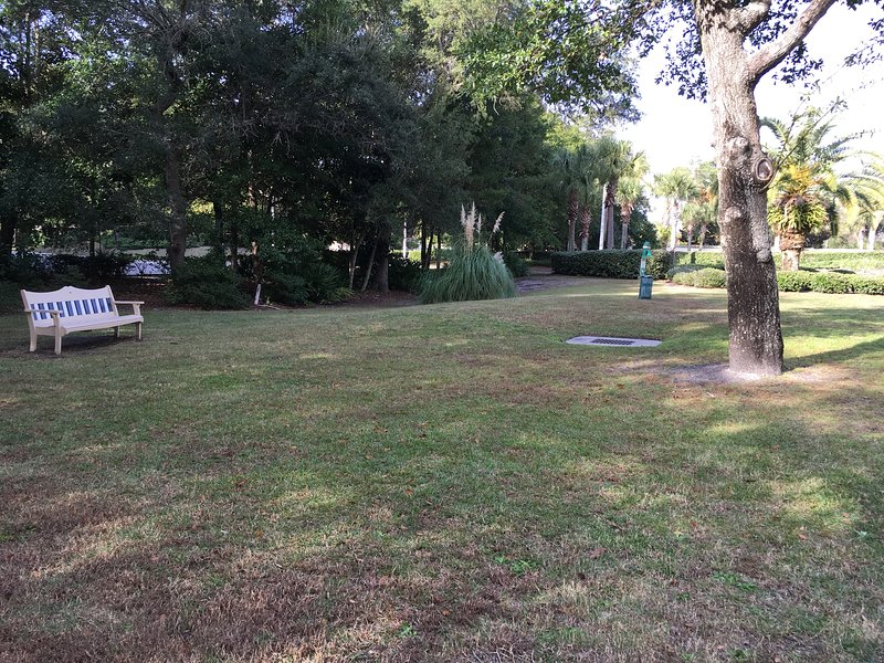 More green space and walking trails; our condo complex is only 4 blocks from Orange Beach Dog Park!