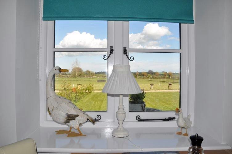 Vista desde Gander Cottage sala de estar
