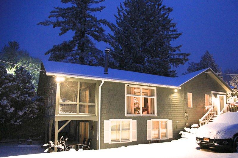 Great ski house!