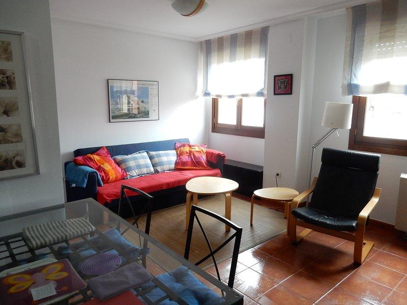 Apartamento en Playa, holiday rental in El Franco Municipality
