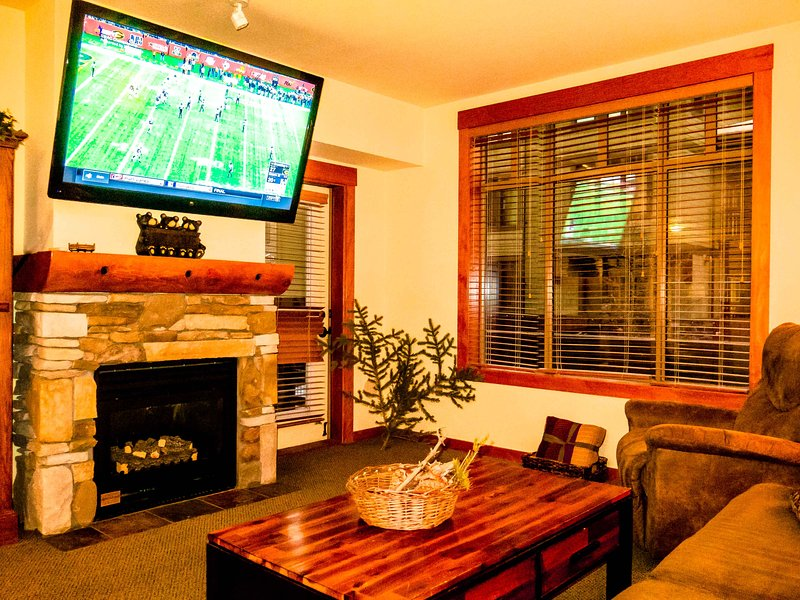 Enjoy full Direct TV, DVDs, and Xbox on the 60-inch HDTV