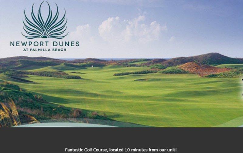 Newport Dunes Golf Course, à seulement cinq minutes en voiture de notre condo!