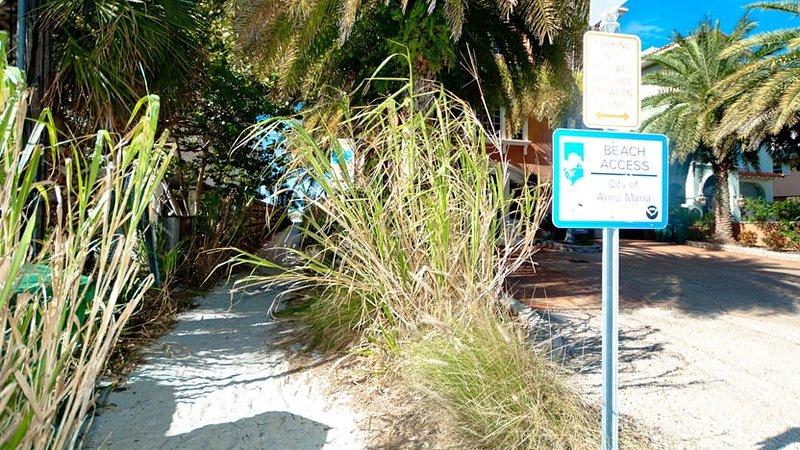 Beach Access Steps Away
