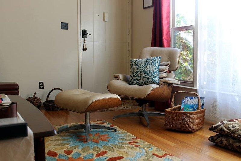 Acolhedora sala de estar