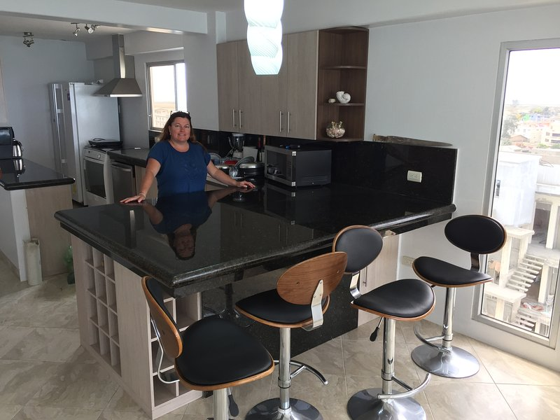 Loads of counters with all new appliances
