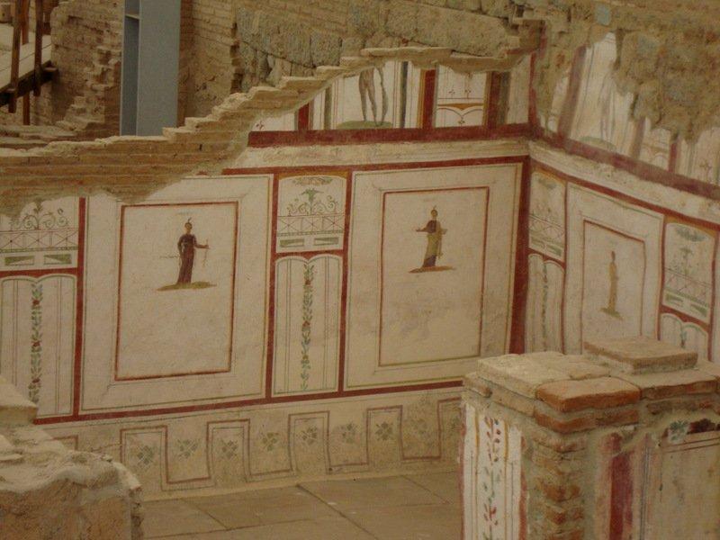 casas adosadas romana, Éfeso
