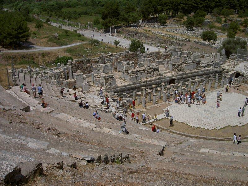 Éfeso, a pocos pasos de St Johns House (2,5 km)