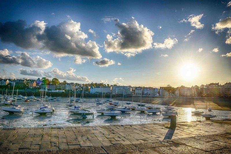Le port de Saint Quay au printemps