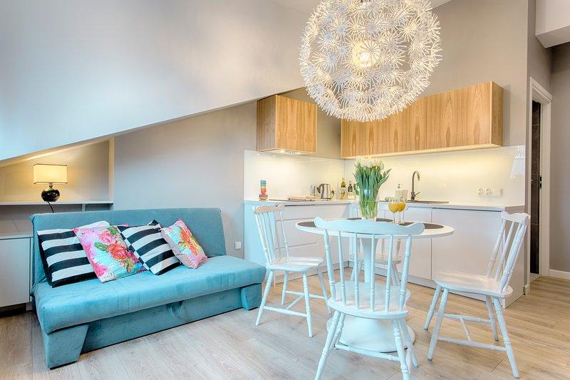 Modern One Bedroom Apartment, casa vacanza a Wegrzce