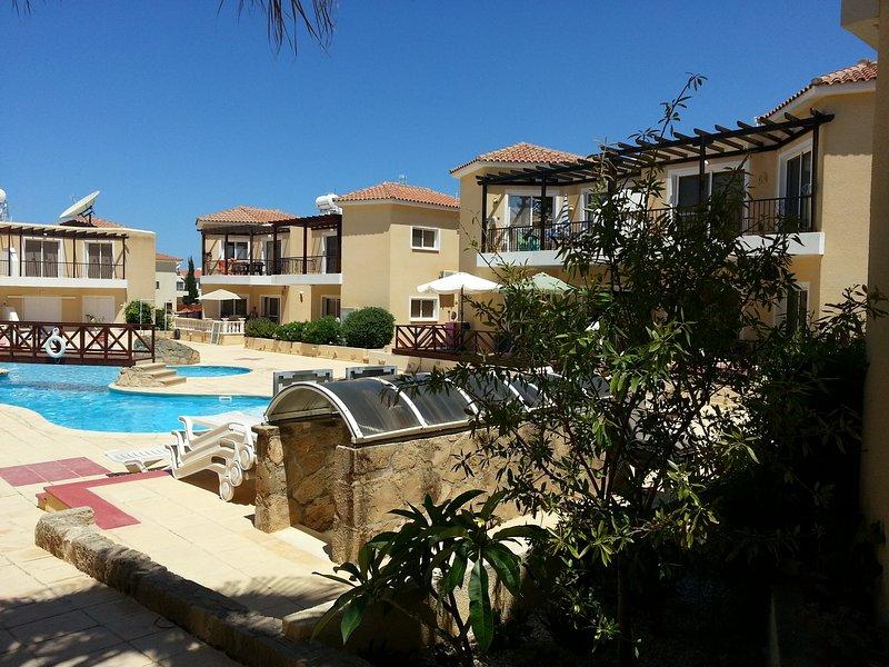 Der schöne Komplex von Sirena Cypria - pure relaxaton!