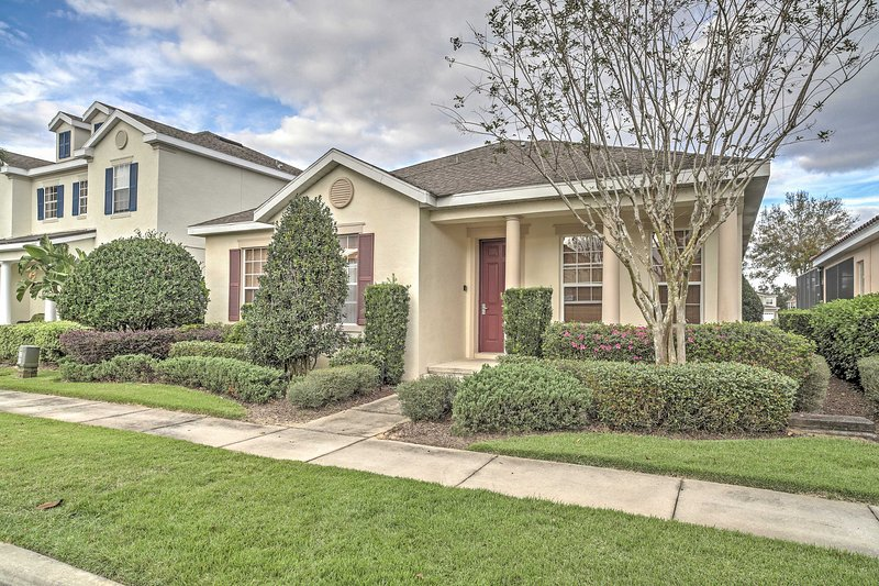 Upon arrival, you'll be impressed by the meticulously manicured yard.