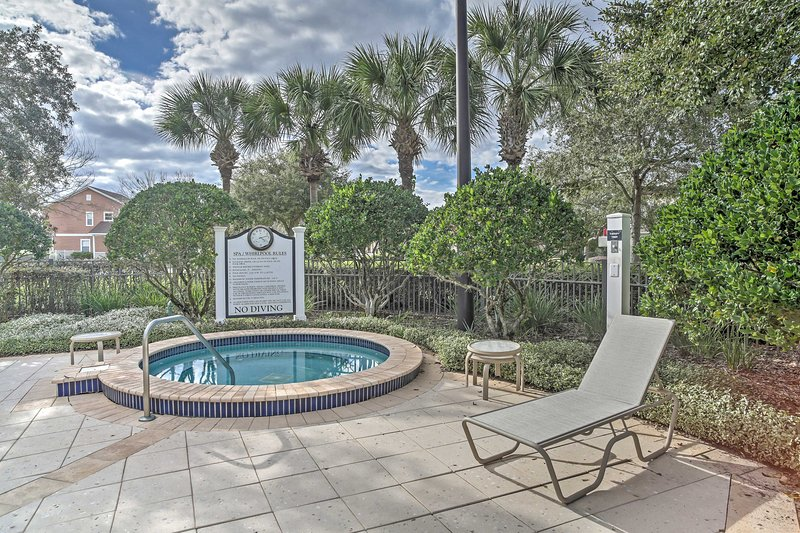 Community amenities abound at this resort complex!