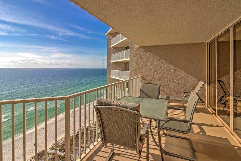 Paradise awaits in this 2-bedroom Panama City Beach vacation rental condo.