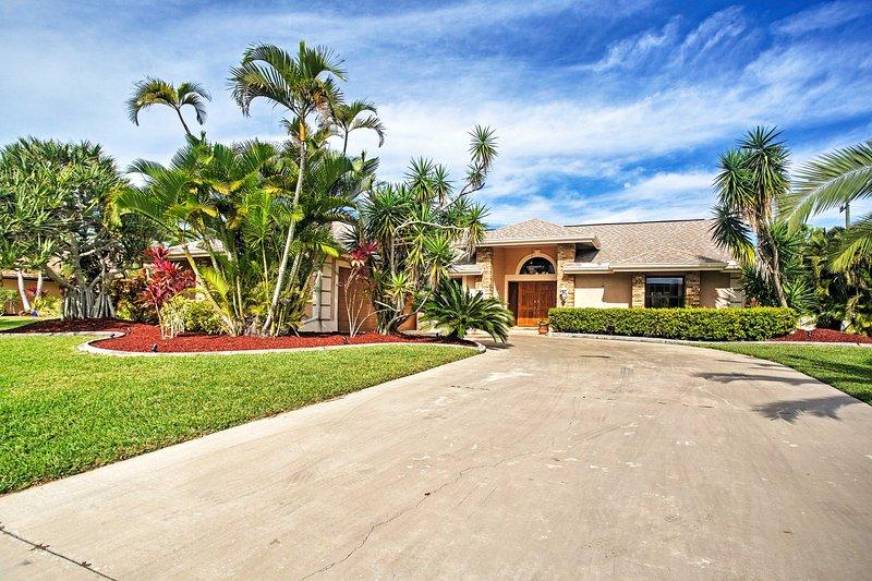 Bienvenido a esta impresionante casa de vacaciones en Bonita Springs.