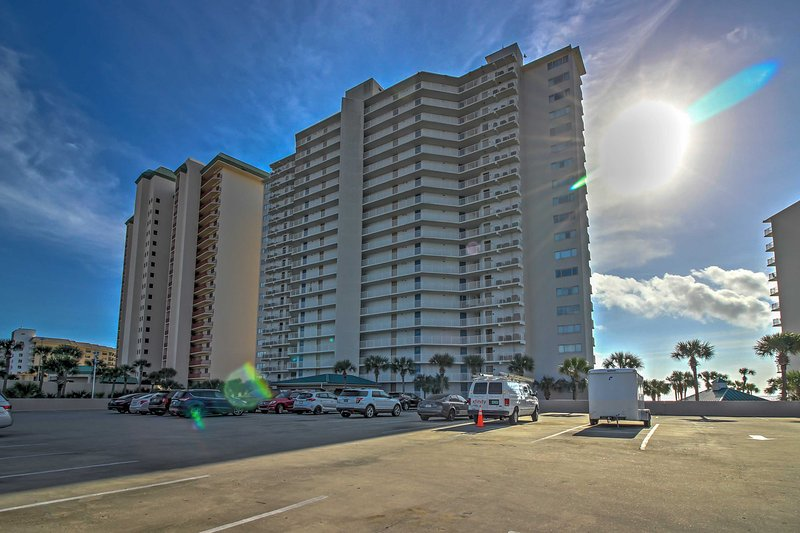 Plan your next getaway to Panama City Beach in this vacation rental condo!