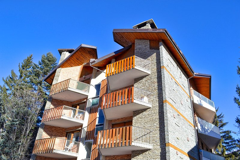 Bardonecchia - 100m² con vista e area verde, holiday rental in Bardonecchia