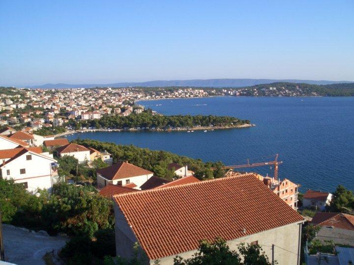 La belle vue depuis le balcon ...