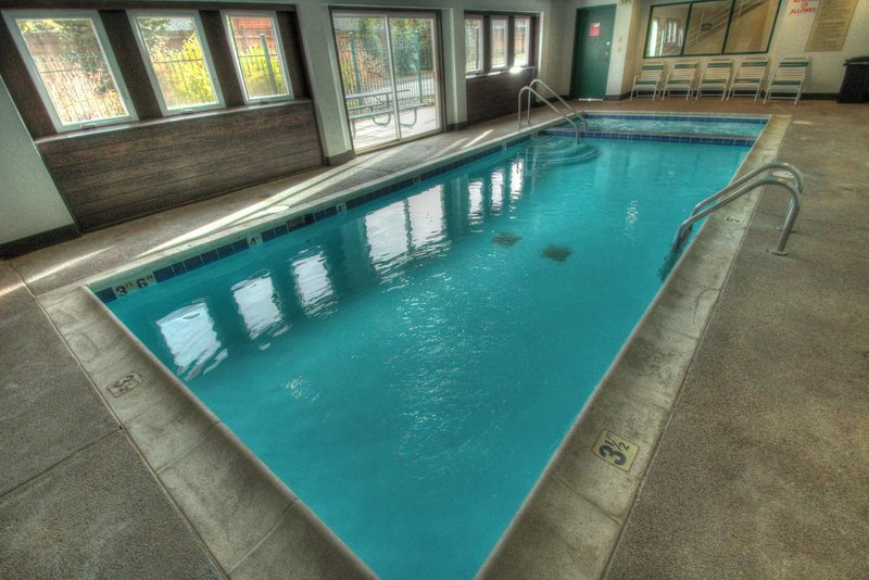 Indoor Pool and Hot Tub - Ease your muscles in the indoor hot tub and cool off with a dip in the indoor pool.